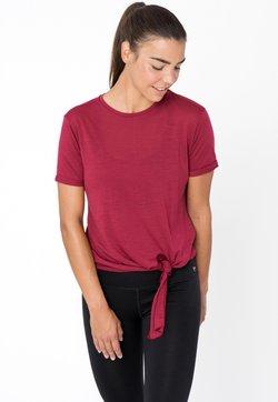 super.natural - W KNOT  - T-Shirt print - rubinrot