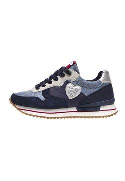 Pepe Jeans - RUSPER SHINY - Sportlicher Schnürer - azul marino