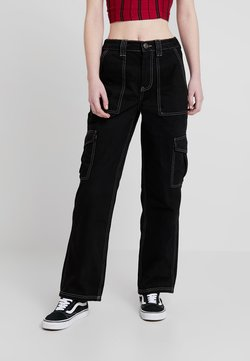 BDG Urban Outfitters - CONTRAST SKATE - Jeans Relaxed Fit - black