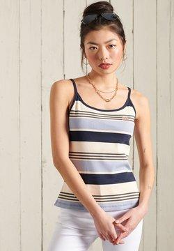 Superdry - Top - forever blue stripe