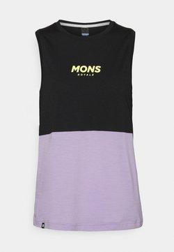 Mons Royale - TARN FREERIDE TANK - Top - lilac/black