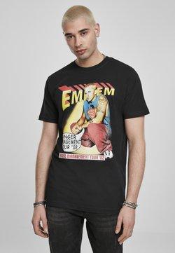 Mister Tee - EMINEM ANGER COMIC  - T-Shirt print - black