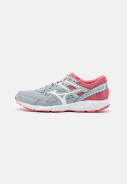 Mizuno - SPARK 6 - Zapatillas de running neutras - high rise/white/tea rose