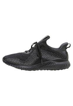 adidas Performance - ALPHABOUNCE EM  - Laufschuh Neutral - black/night metalllic/carbon