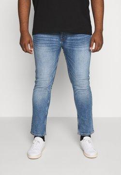 Burton Menswear London - BIG TOTTENHAM - Slim fit jeans - light blue