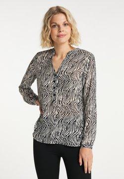 usha - Langarmshirt - schwarz weiss