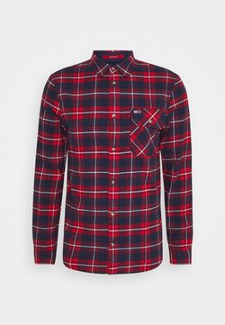 Tommy Jeans - PLAID - Hemd - twilight navy/multi