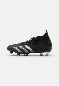 adidas Performance - PREDATOR FREAK .3 SG - Screw-in stud football boots - core black/footwear white
