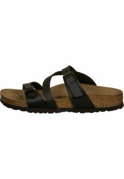 Birkenstock - SALINA  - Pantolette flach - black