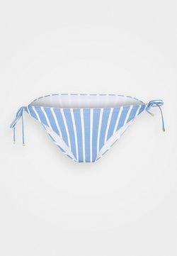 Tommy Hilfiger - STRIPES STRING SIDE TIE - Bikini-Hose - blue