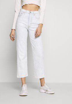 Levi's® - RIBCAGE STRAIGHT ANKLE - Straight leg jeans - light blue denim