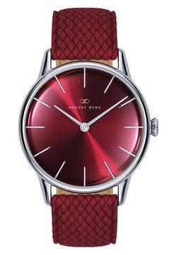 August Berg - Uhr - sunray red