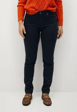 Violeta by Mango - VALENTIN - Jeans Straight Leg - black denim