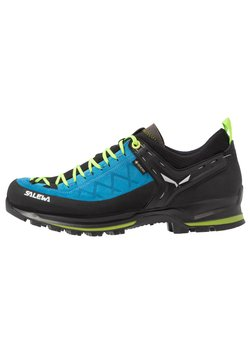 Salewa - MS MTN TRAINER 2 GTX - Hikingschuh - blue danube/fluo green