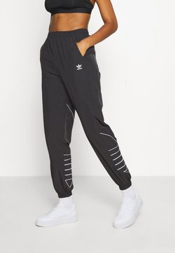 adidas Originals - LOGO - Jogginghose - black/white