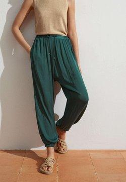 OYSHO - HAREM  - Pantaloni - evergreen