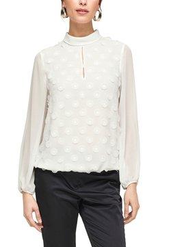s.Oliver BLACK LABEL - Langarmshirt - soft white