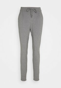 Vero Moda Tall - VMEVA LOOSE STRING PANTS  - Jogginghose - medium grey melange