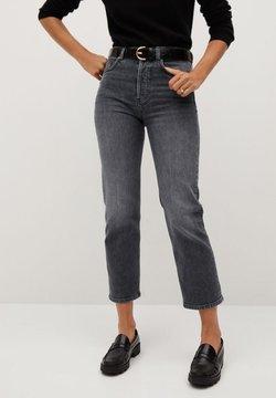 Mango Premium - PREMIUM - Straight leg jeans - open grey