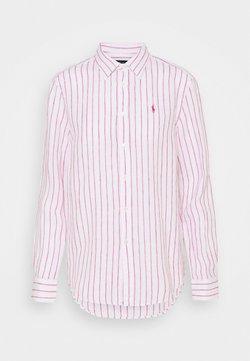 Polo Ralph Lauren - STRIPE LONG SLEEVE - Hemdbluse - white/pink