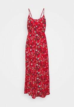 Vero Moda Petite - VMSIMPLY EASY SINGLET DRESS - Maxiklänning - goji berry