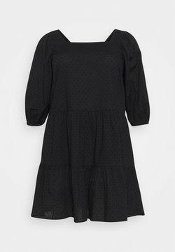 Zizzi - XTINNAE KNEE DRESS - Freizeitkleid - black