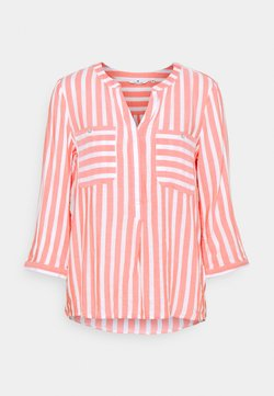 TOM TAILOR - Bluse - peach offwhite