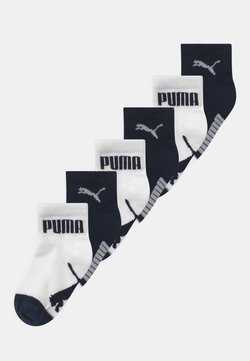 Puma - MINI CATS LIFESTYLE 6 PACK UNISEX - Calcetines - new navy/white