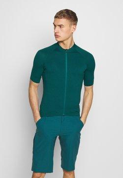 Giro - NEW ROAD  - T-Shirt print - true spruce heather