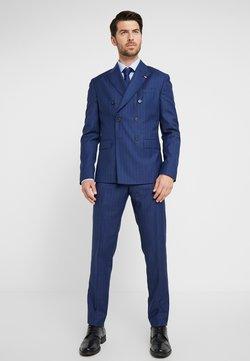 Tommy Hilfiger Tailored - BLEND STRIPE SLIM FIT SUIT - Puku - blue