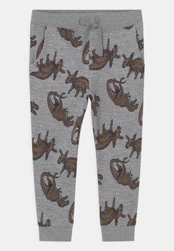 Name it - NMMLOKE PANT - Pantalones - grey melange