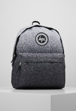 Hype - BACKPACK SPECKLE FADE - Reppu - black/white