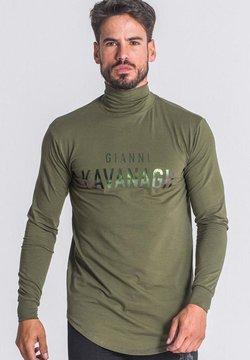 Gianni Kavanagh - Maglietta a manica lunga - army green