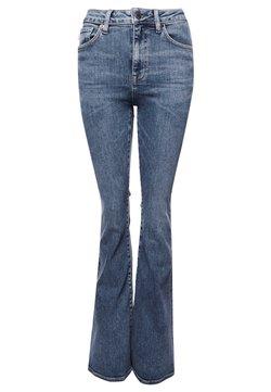Superdry - Jeans a zampa - dark indigo aged