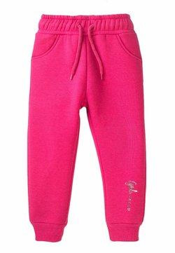 MINOTI - SLIM FIT - Pantalones deportivos - pink
