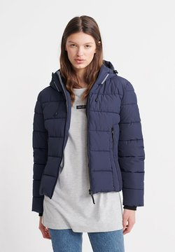 Superdry - SUPERDRY SPIRIT ICON PUFFER JACKET - Winterjacke - atlantic navy