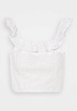 NA-KD - OFF SHOULDER OVERLAPPED - Top - white