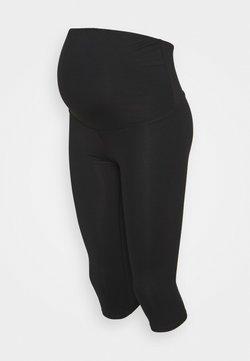 Cotton On Body - CORE CAPRI OVER BELLY TIGHT - Pantalón 3/4 de deporte - core black