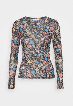 Topshop - FLOWER - T-shirt à manches longues - multi
