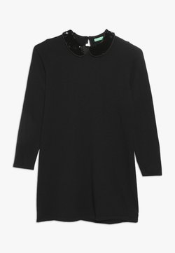 Benetton - DRESS - Robe pull - dark blue