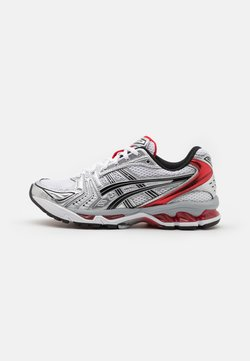 ASICS SportStyle - GEL-KAYANO 14 UNISEX - Sneakersy niskie - white/classic red