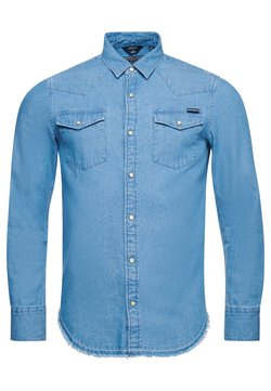 Superdry - RESURRECTION  - Camicia - light wash