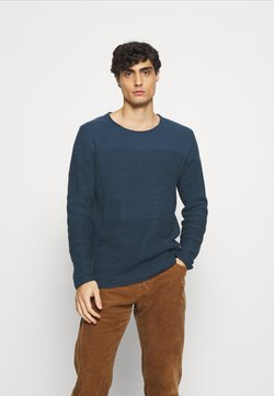INDICODE JEANS - DALE - Strickpullover - navy