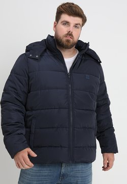 Urban Classics - HOODED PUFFER JACKET - Winterjacke - navy