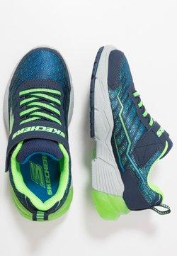 Skechers - THERMOFLUX 2.0 - Sneaker low - navy/lime/blue