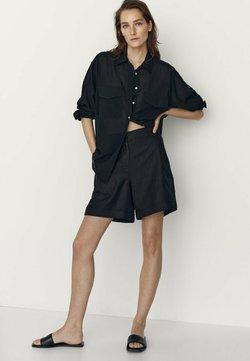 Massimo Dutti - Shorts - black