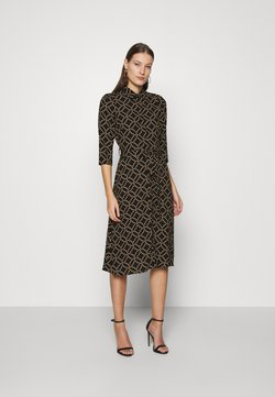 Dorothy Perkins - MIDI SHIRT DRESS - Vestido camisero - black