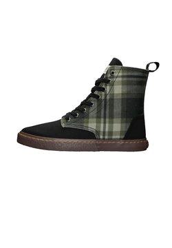 Ethletic - BROCK BROCK - Sneaker high - tartan mystic green