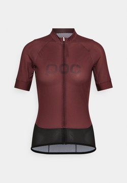 POC - ESSENTIAL ROAD LOGO - T-Shirt print - propylene red/dark propylene red