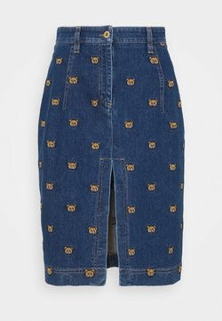 MOSCHINO - SKIRT - Gonna di jeans - blue denim